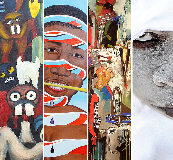 painting - african|contemporary - contemporary african art gallery features paintings by some of the most relevant african painters.